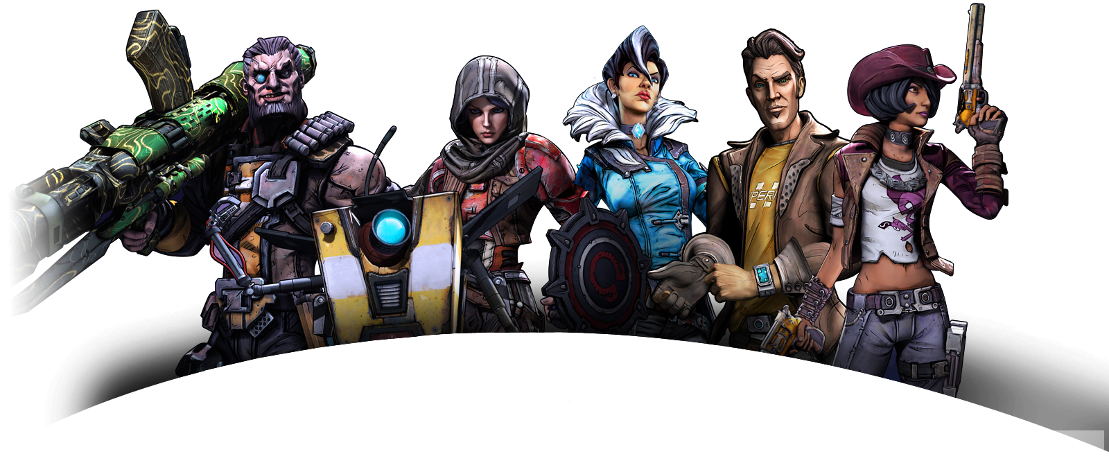 Bl2 naked characters exploited photo