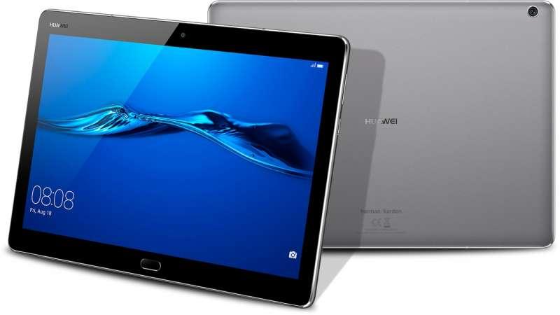 "Huawei MediaPad Lite M3 - тонкий планшет с Android 7.0 и экраном 10""."
