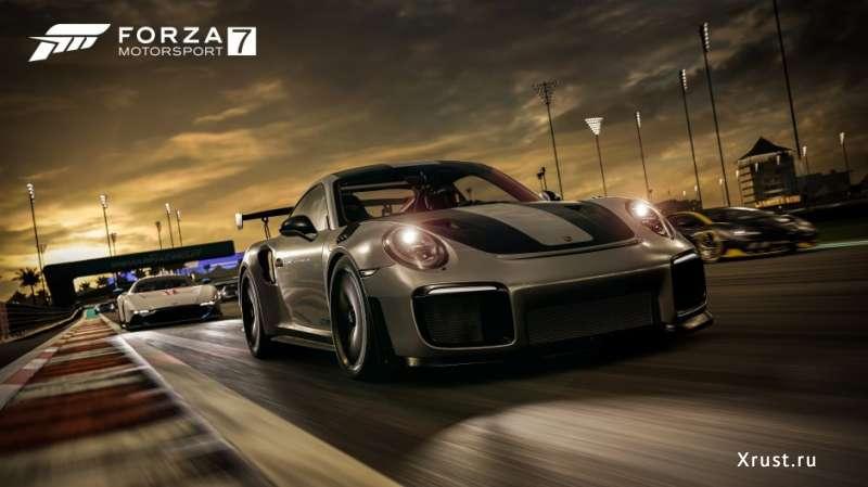 Forza Motorsport 7 - новинка 2017 с ультра графикой