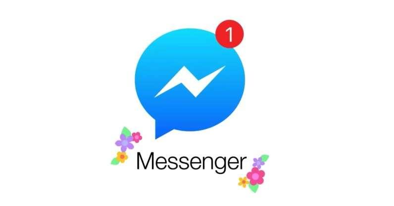 Facebook Messenger. Галактика Facebook