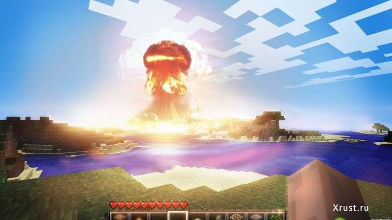 Как устроить взрыв в Minecraft