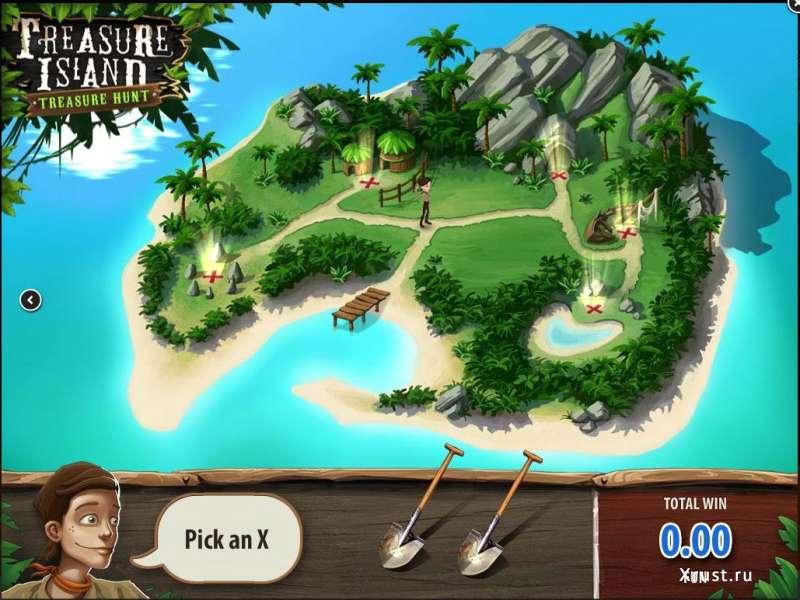 Остров в казино Вулкан