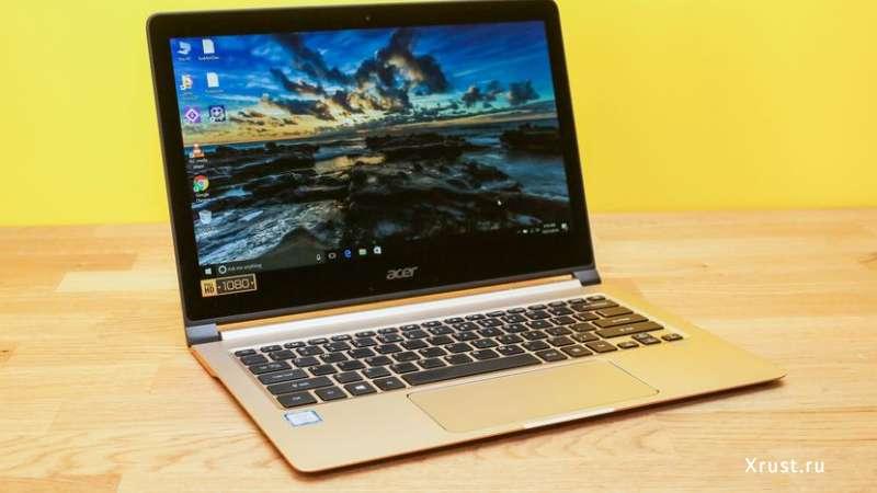 Наитончайший ноутбук Swift 7 предложил россиянам Acer