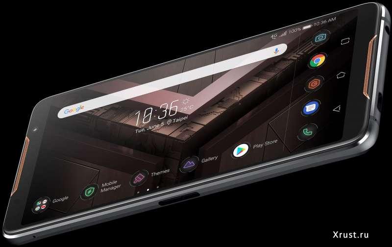 Геймерский ROG Phone представлен командой ASUS