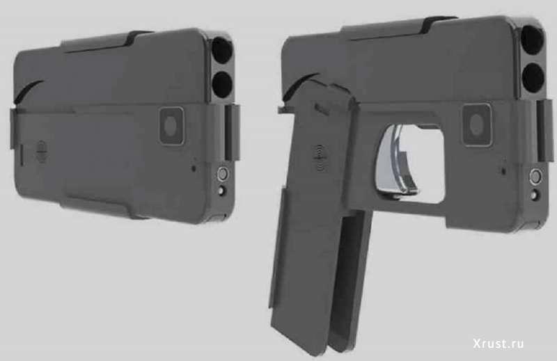 Пистолет-смартфон – селфи будет самоубийственным