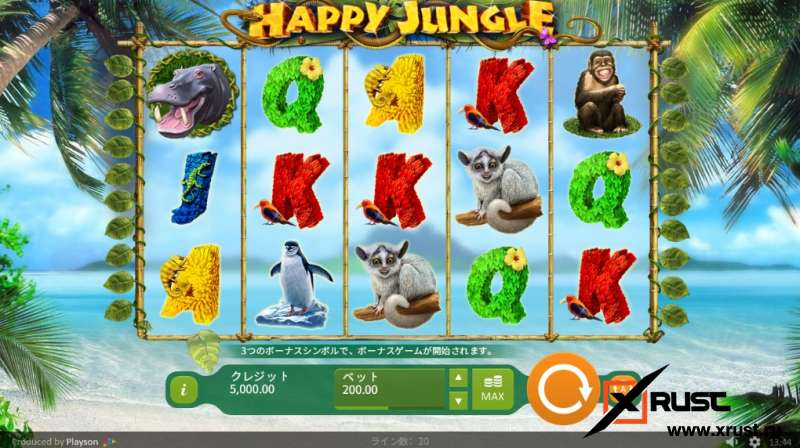 Казино Вулкан Миллион и слот Happy Jungle