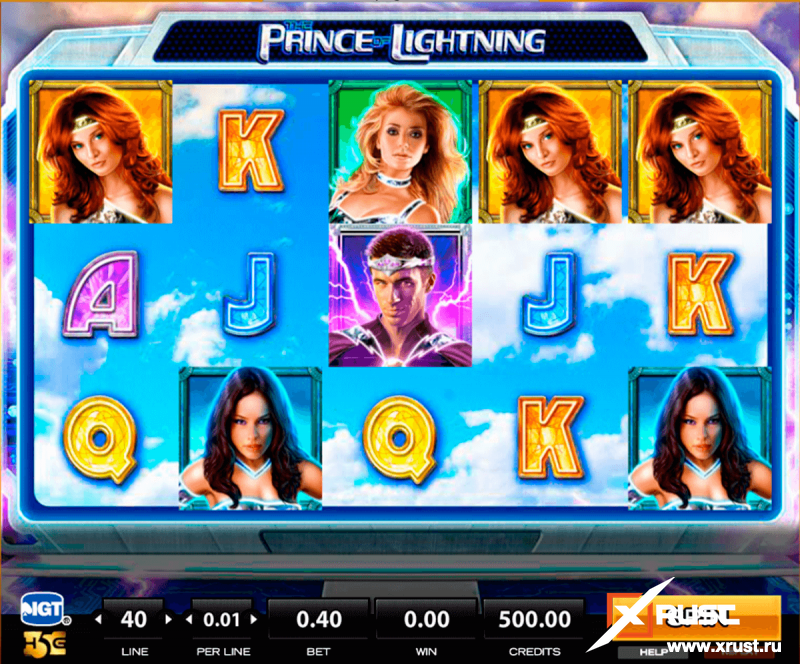 Игрововой слот Prince Lauren: Crystal of Knowledge в казино Вулкан