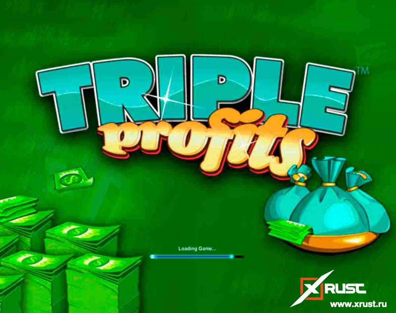 Triple Profits Slots в казино Спин Сити
