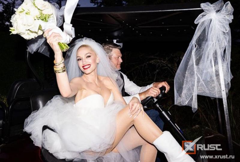 51-летняя Гвен Стефани  вышла замуж